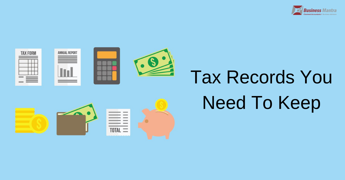Tax Records You Need To Keep