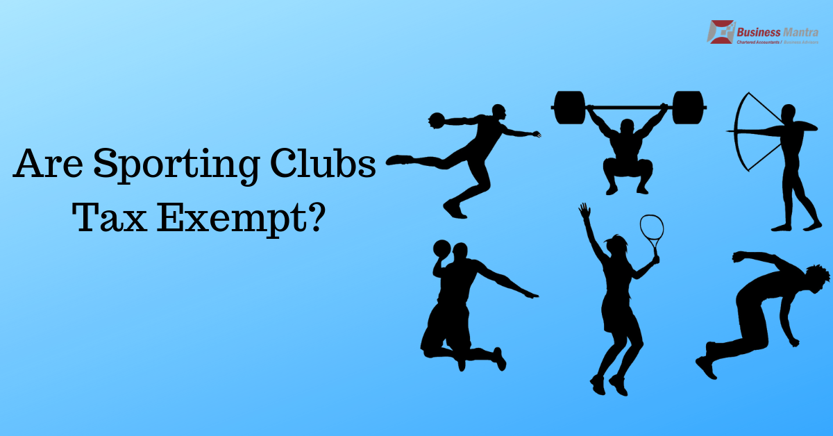 Are Sporting Clubs Tax Exempt?