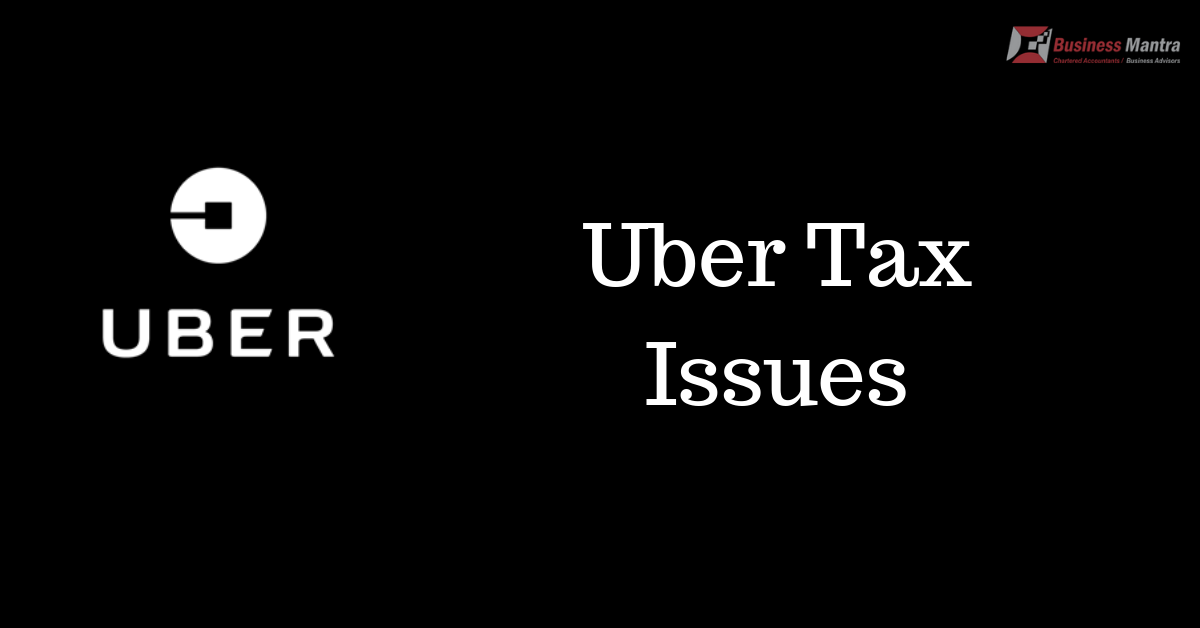 Uber Tax Issue