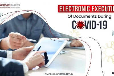 Electronic execution of documents during COVID-19