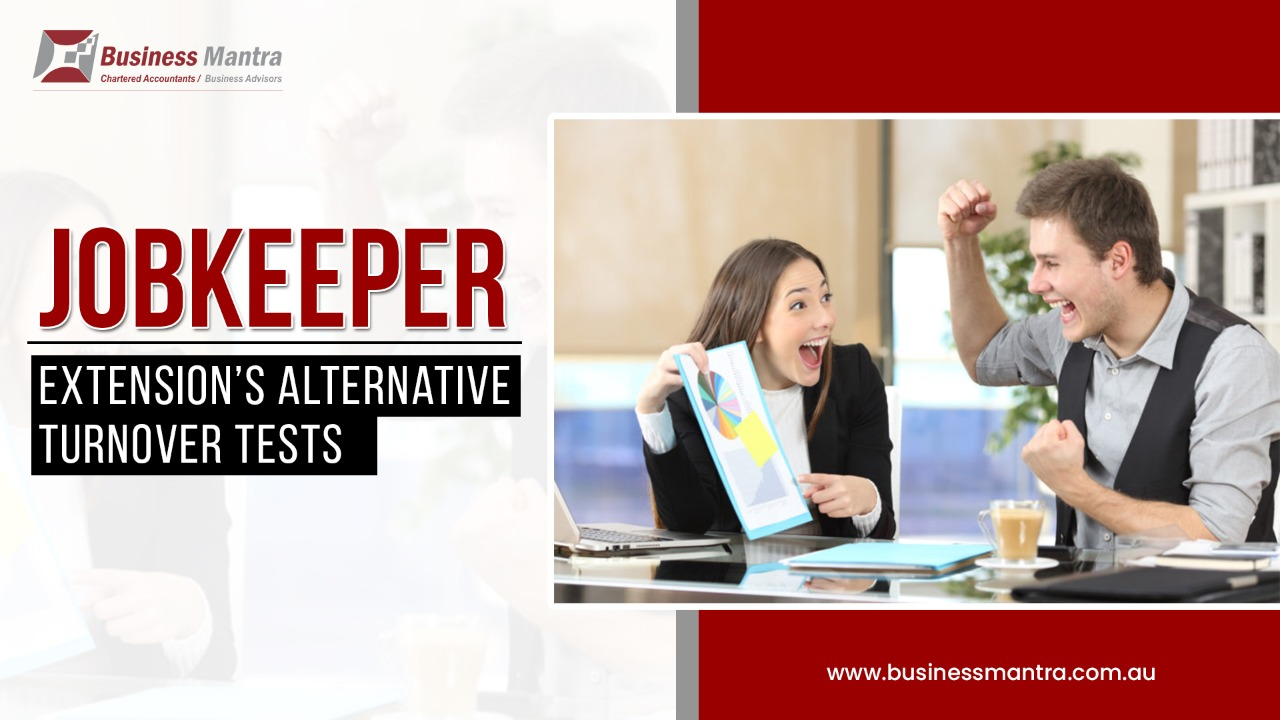 JobKeeper extension's alternative turnover tests