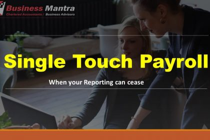 Single touch payroll: When your reporting can cease