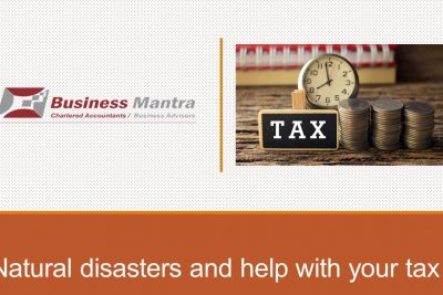Natural disasters and help with your tax