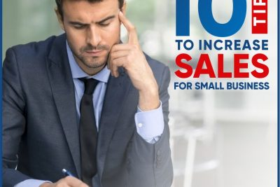 10 tips to increase sales for small Business